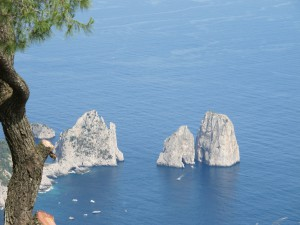 Capri landmarks