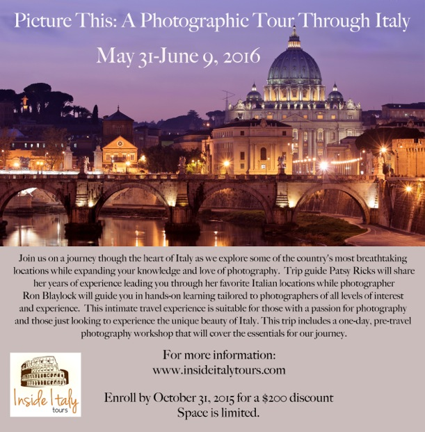 June 2016, Picture This: A Photographic Tour Through Italy ...